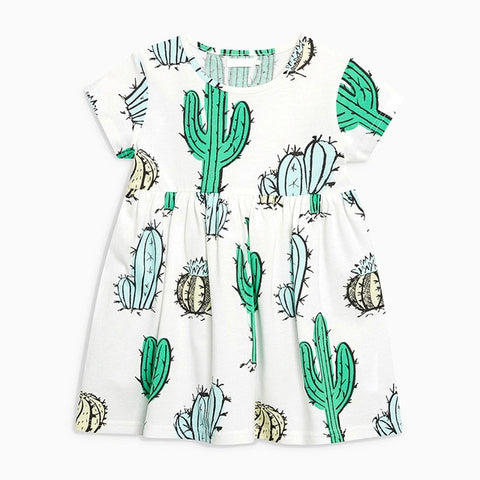 Cactus Knit Dress (Sizes 24 mos-5/6)