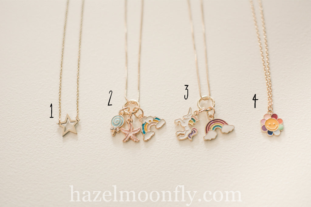 She's a RAINBOW Necklaces (Gold)
