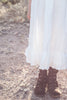 Kaidence Linen Look Long Dress