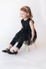 Bella Black Sparkle Tunic with FREE Kitty Ear Headband - Hazelmoonfly - 3