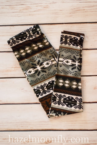 Astrid Fair Isle Leggings