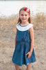 Betty Jo Denim and Lace Dress *Size 7/8-9/10*