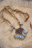 Jordan Grey Bohemain Fringe Necklace