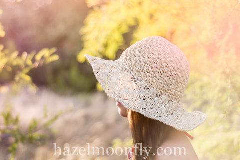 Ziggy Woven Raffia Hat with Adjustable sizing and brim