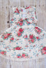 Jillian Vintage Floral Dress - Hazelmoonfly - 3