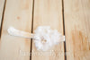 Willa Deluxe Chiffon Flower Headband with Rhinestones and Pearls - Hazelmoonfly - 4