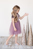 Faith Isabella Mauve Velvet Tutu Dress (Size 9mos-4/5)