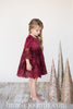 Angele Velvet and Lace Dress (size 3-8)