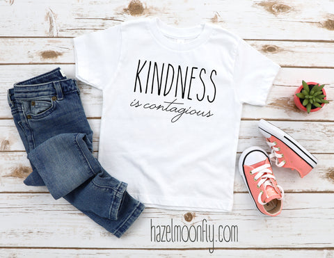 Kindness is CONTAGIOUS YOUTH T Available in 3 Colors