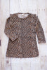 The Cat's Meow Knit Leopard Print A-Line Mini Dress - Hazelmoonfly - 1