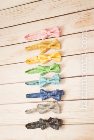 Dapper Dan (8 Colors Available!) Children's Adjustable Polka Dot Bow Tie