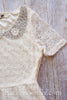 Ashleigh Ivory Lace Dress With Hand-Beaded Peter Pan Collar - Hazelmoonfly - 3