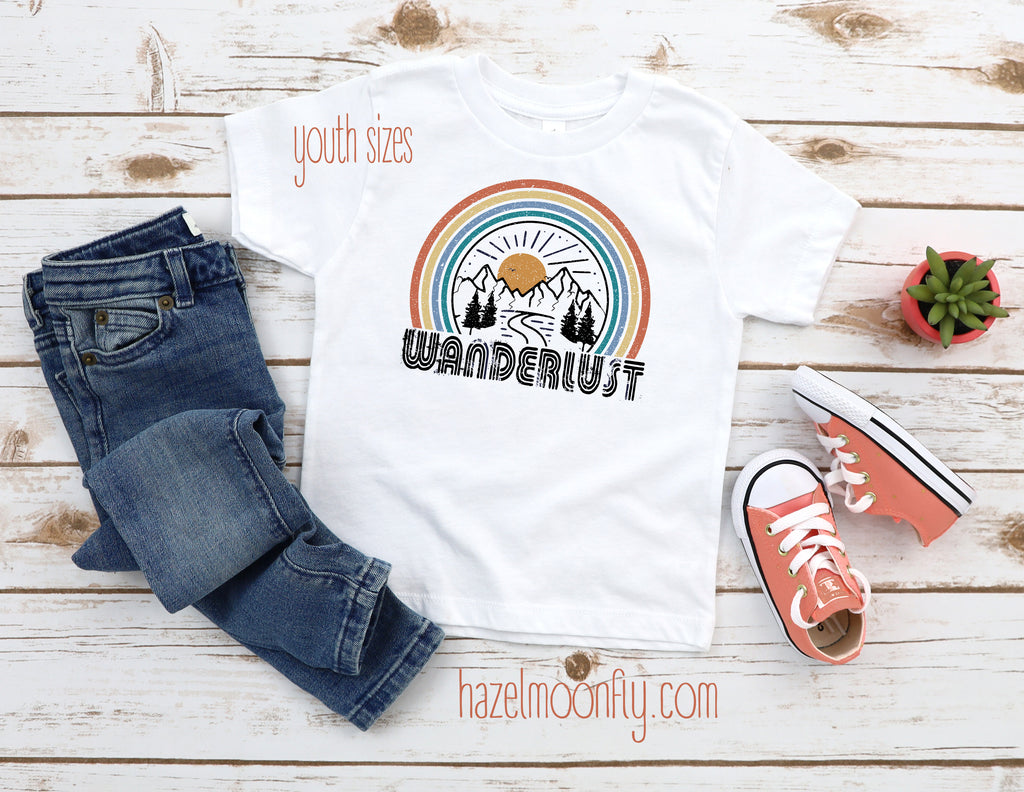 Youth Wanderlust T FOREST(sizes XS-XL)