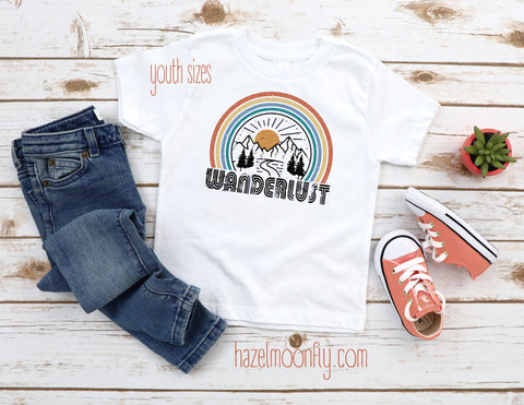 Youth Wanderlust T (sizes XS-XL)
