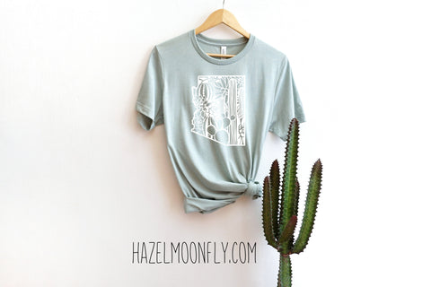Floral Arizona White Print 10 Colors Available