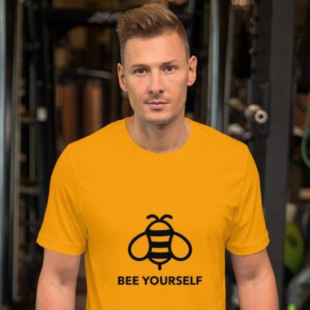 Premium Unisex T-Shirt  Bee Yourself