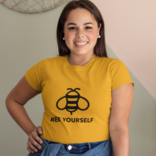 Load image into Gallery viewer, Women's T-shirt Bee Yourself