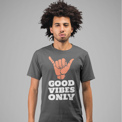 Men's T-Shirt Good vibes only