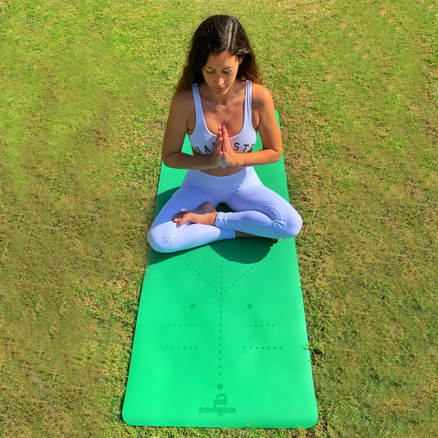 Pal Yoga Mat - Turtle Green