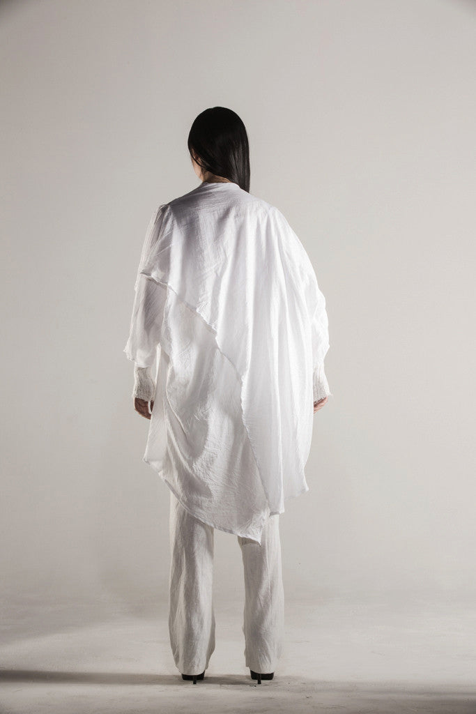 X _ Ghost Cardigan White