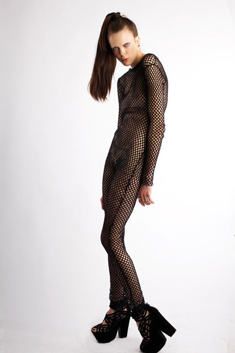 X_ Net Bodysuit