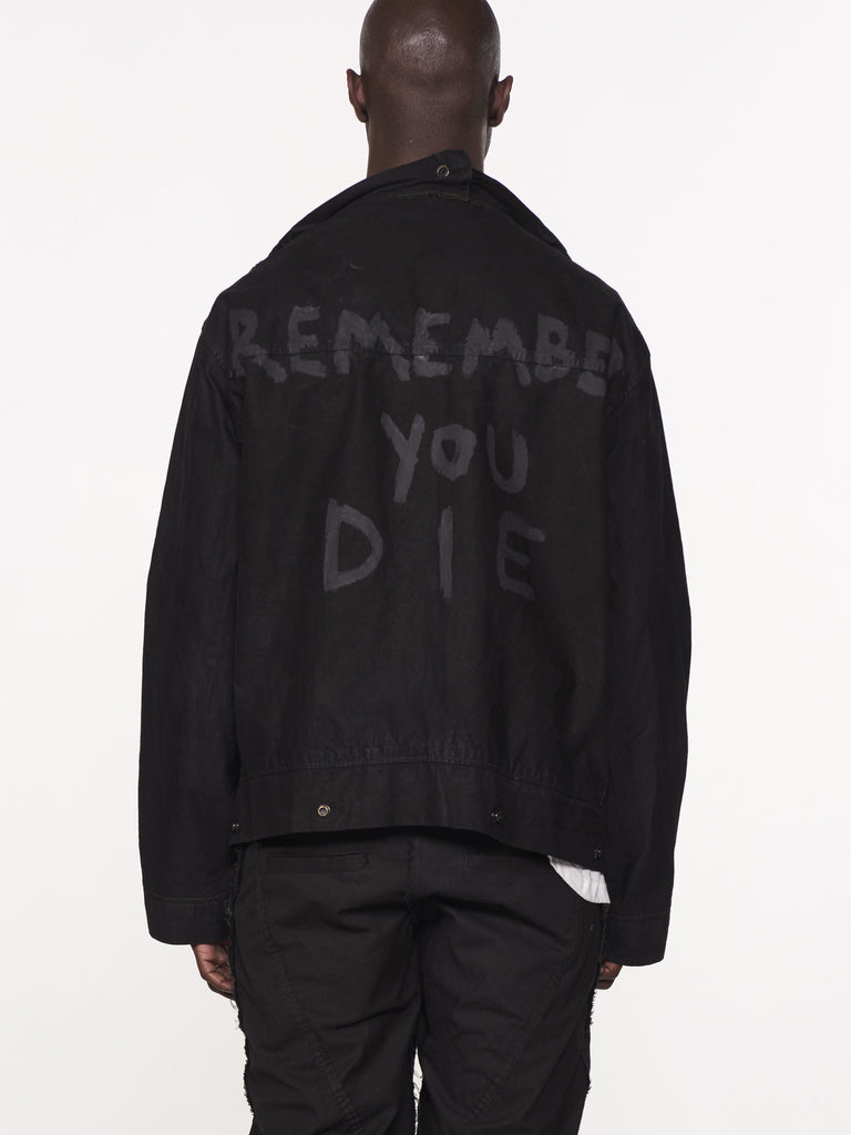 REMEMBER YOU DIE JACKET