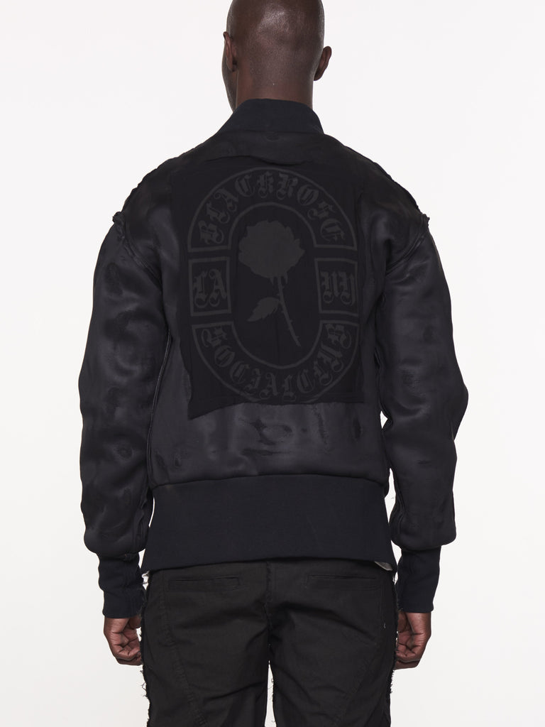 BLACK ROSE BOMBER