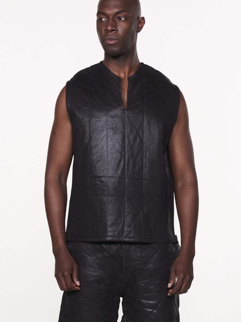 A WAXED CALLED VEST