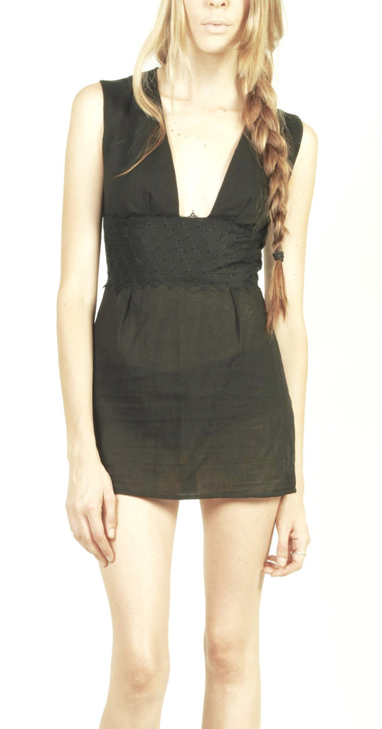 X_ My Little Black Mini Dress