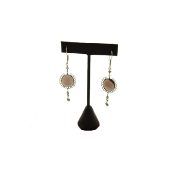 Smokey Quartz Linear Earring
