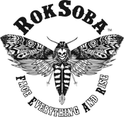 Rok Soba's Death's Head Hawkmoth design with motto Face Everything And Rise