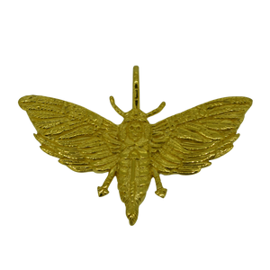 Golden Death Moth X Ricki Hall - Jewellery - Rok Soba X Ricki Hall
