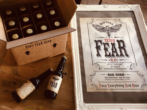 'Zero FEAR' 0.0% ABV Stout - Alcohol Free Beer - Rok Soba