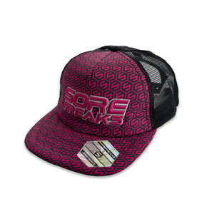 PATTERN WOMEN PINK CAP