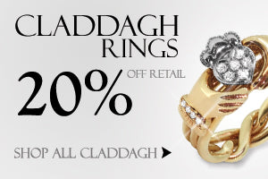 Claddagh Puzzle Rings