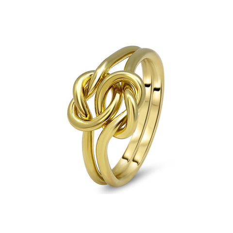 Gold Puzzle Ring 2K1-L