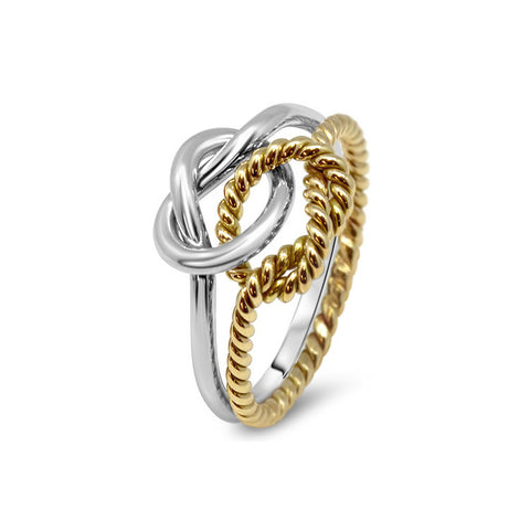 Gold Puzzle Ring 2K2-L
