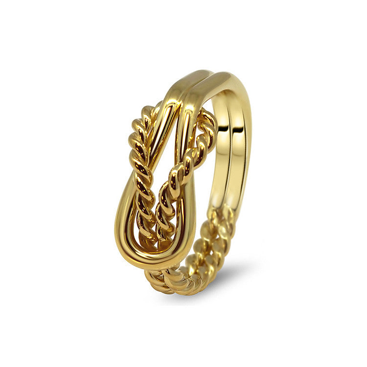Gold Puzzle Ring 2K3-L