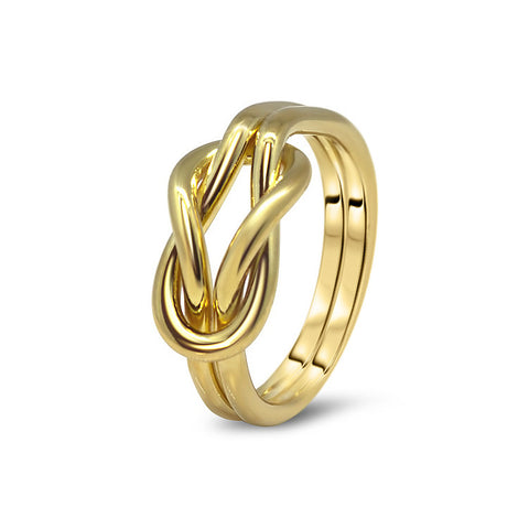 Gold Puzzle Ring 2K4-L