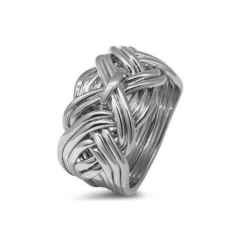 Platinum Puzzle Ring 11WD-M