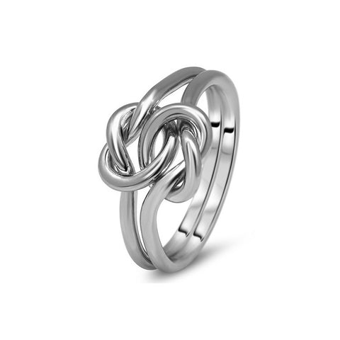 Platinum Puzzle Ring 2K1-L