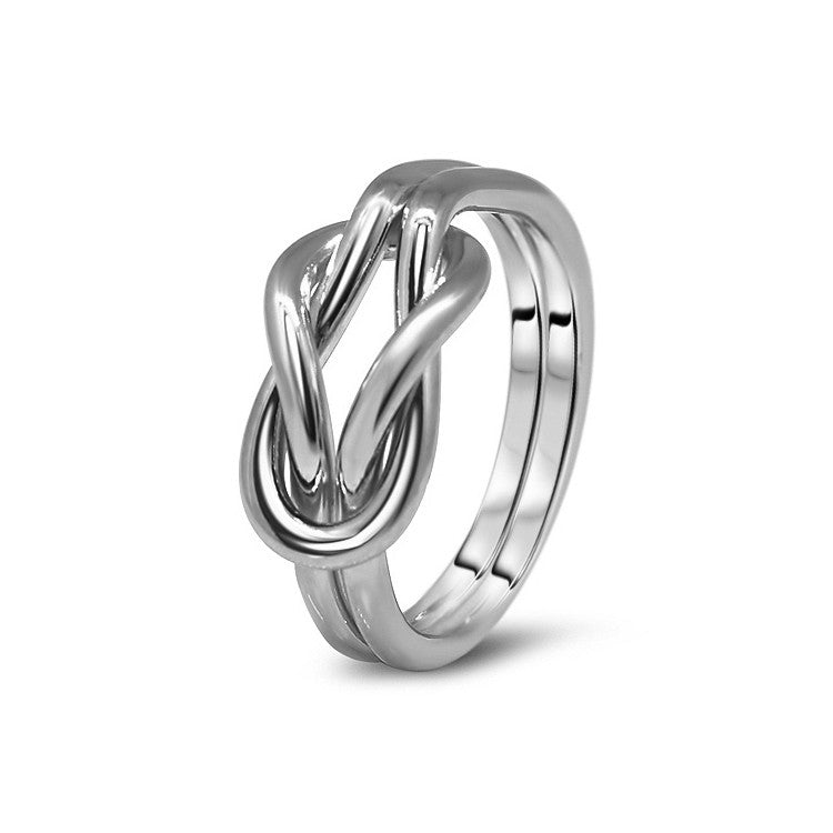Platinum Puzzle Ring 2K4-L