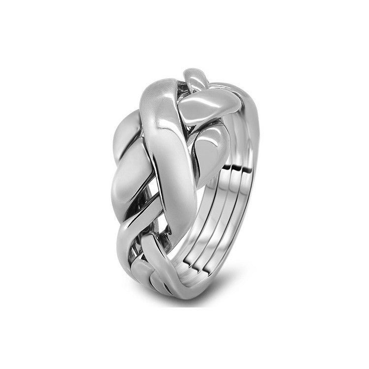 Platinum Puzzle Ring 4RC-L