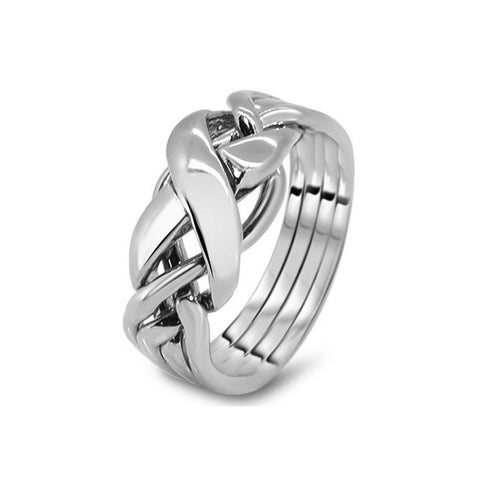 Platinum Puzzle Ring 4RX-M