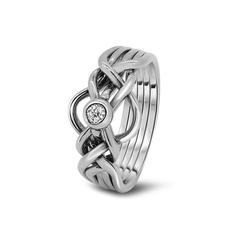 Platinum Puzzle Ring 5D-LD