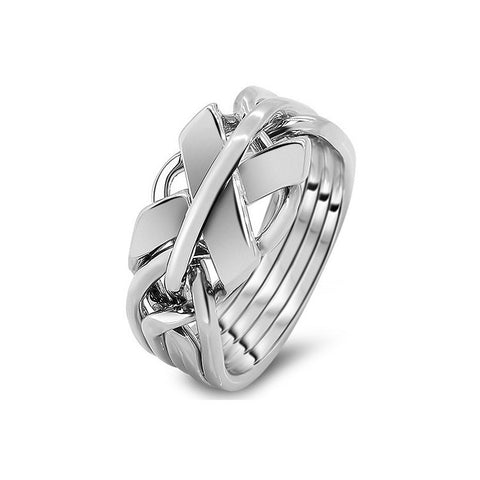 Platinum Puzzle Ring 5FX-M