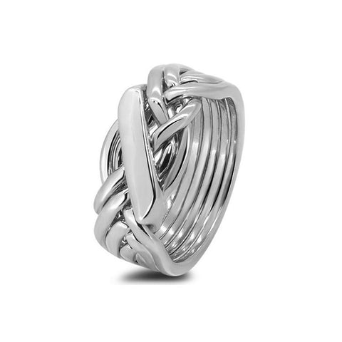 Platinum Puzzle Ring 61H-L