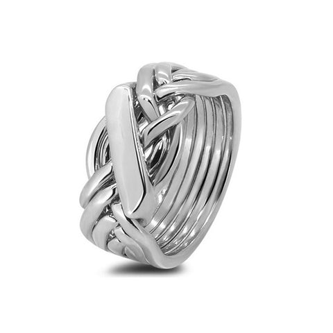 Platinum Puzzle Ring 61H-M