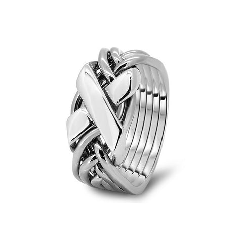 Platinum Puzzle Ring 6FX-L