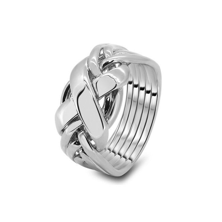Platinum Puzzle Ring 6RX-L